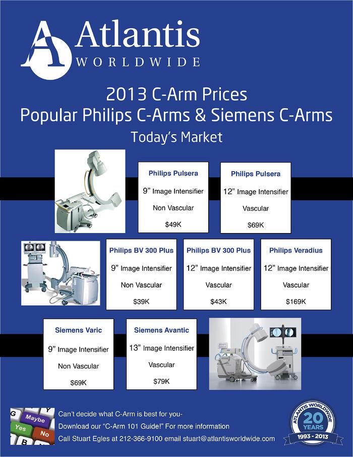 C arm prices