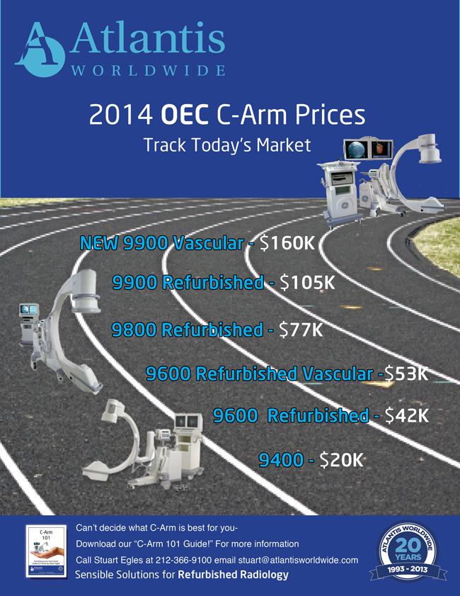 2014 OEC C Arm Prices