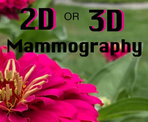 2D-3D mamo