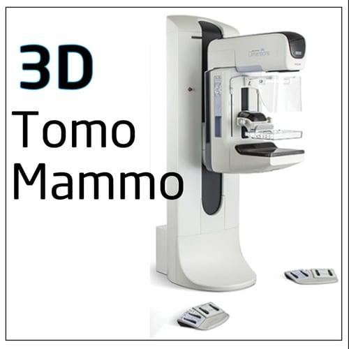3D Hologic Tomo Mammo