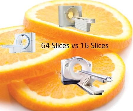 64 vs 16 slice