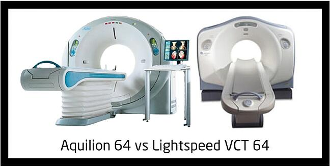 Aquilion 64 And the GE Lightspeed VCT 64