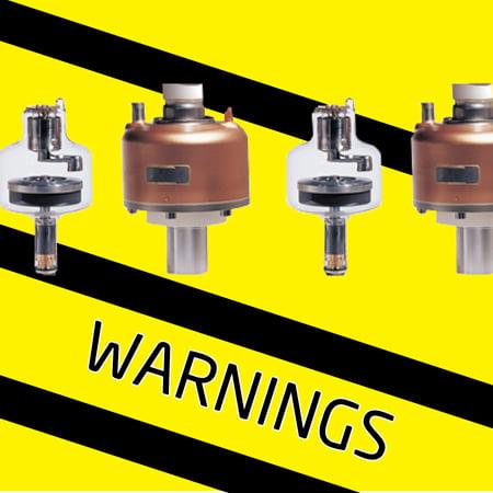 CT Tube Warnings