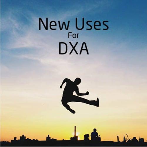 DXA uses
