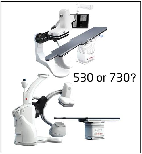 GE Innova IGS 530- 730