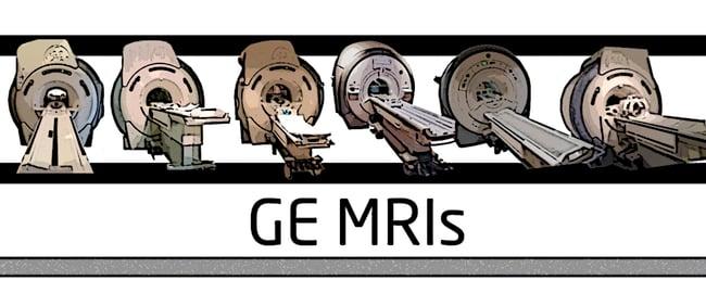 GE MRIs compared