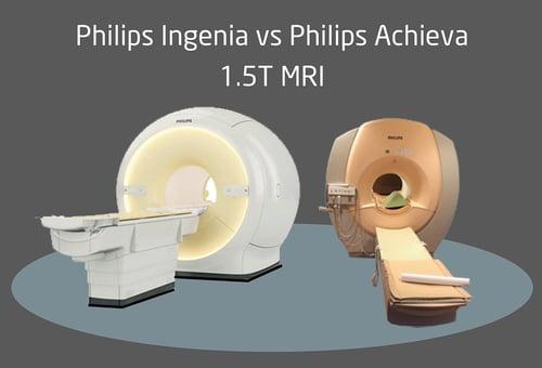 Philips Ingenia v Achieva MRI