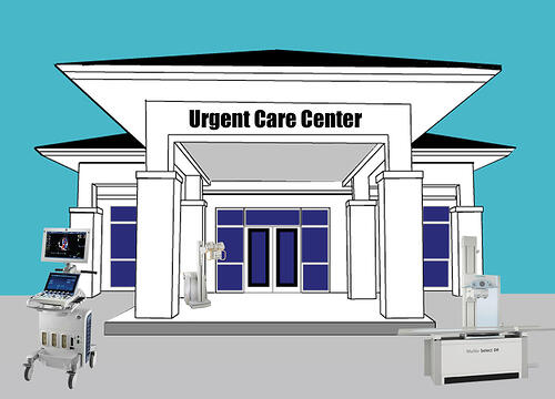 Urgent care XRay